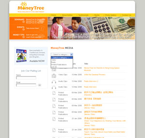 Moneytree CMS Example